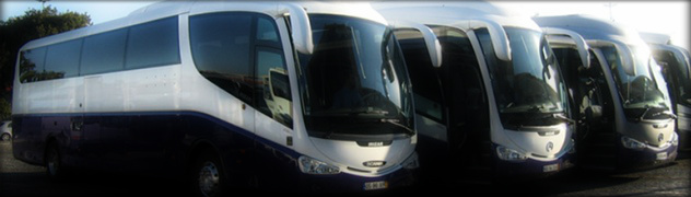 Minibus and Bus Hire in Portugal